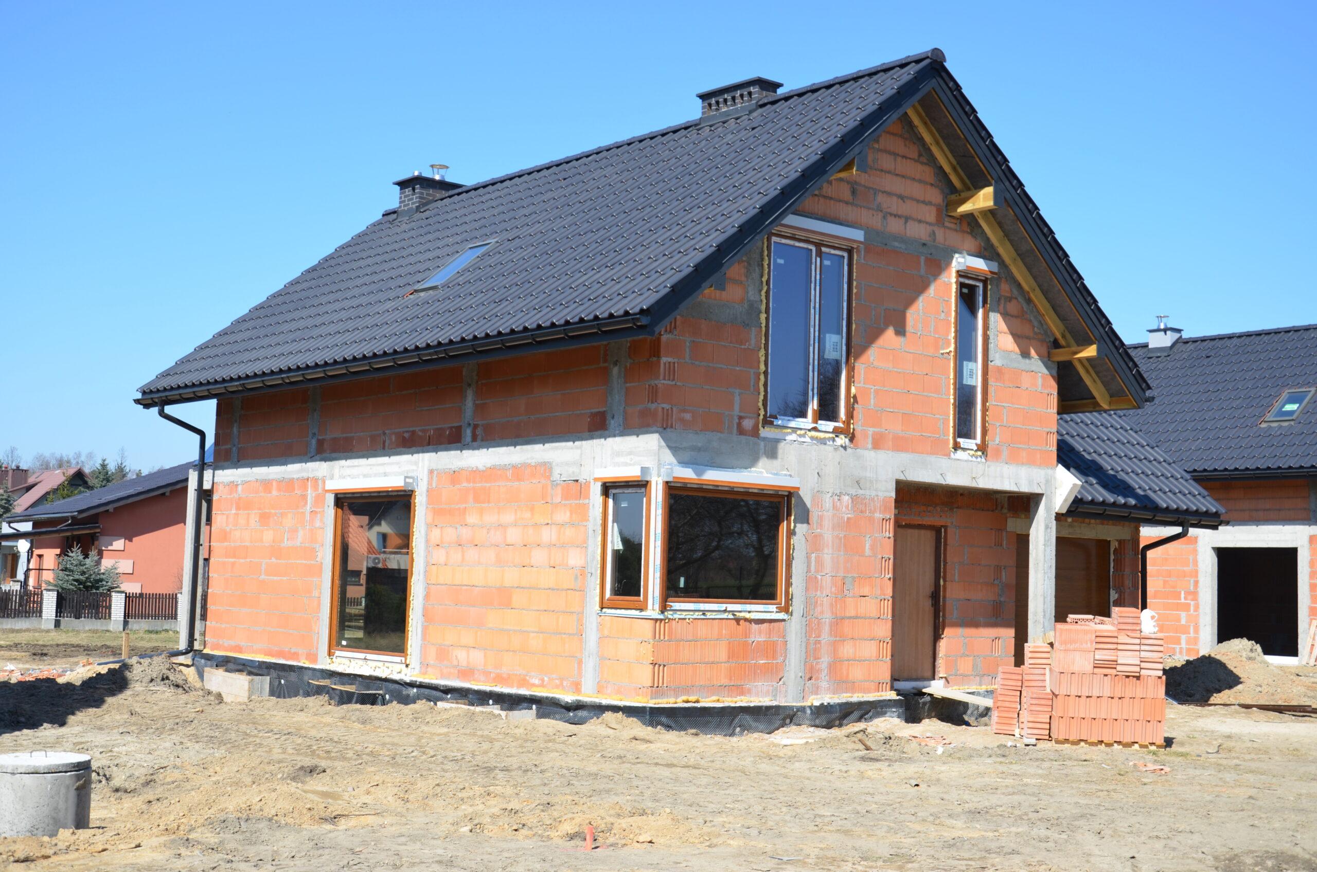 Osiedle w budowie - Jaworzno - Dąbrowska